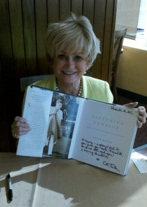 Kitty Kelley at signing for her latest book, Capturing Camelot